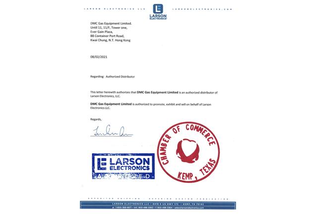 Larson Electronics Proxy Certificate