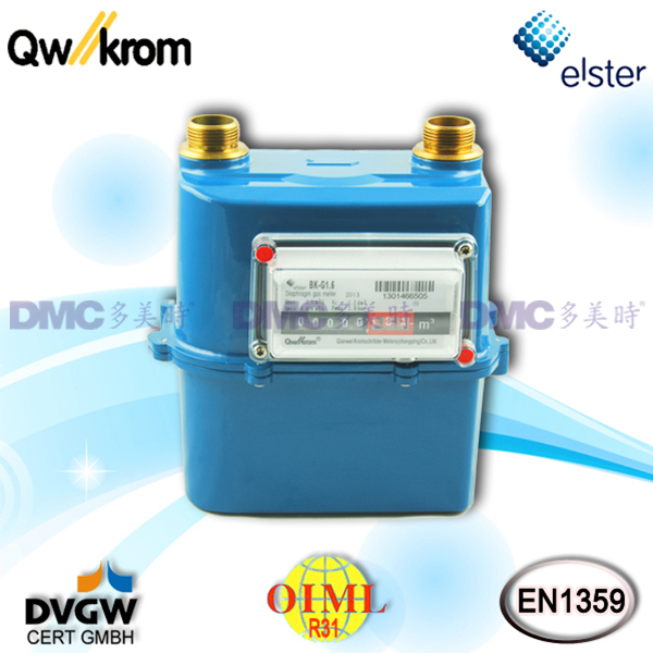 Qianwei Krom QK4000 Residential Diaphragm Gas Meter