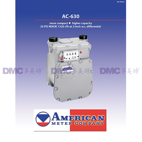 American Meter (AMCO) LPG Measuring Equipment AC630