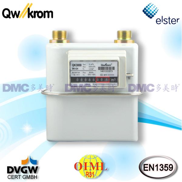 Qianwei-Krom QK3000 Residential Diaphragm Gas Meter_3