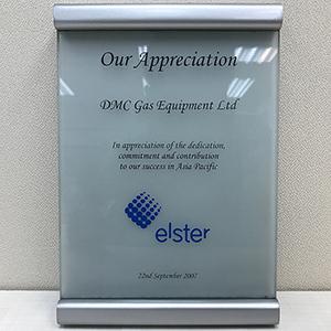 Elster's Certificates & Awards
