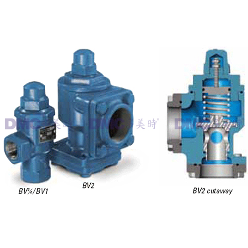 Blackmer LPG Bypass Valves Precise, On-Line Pressure Protection