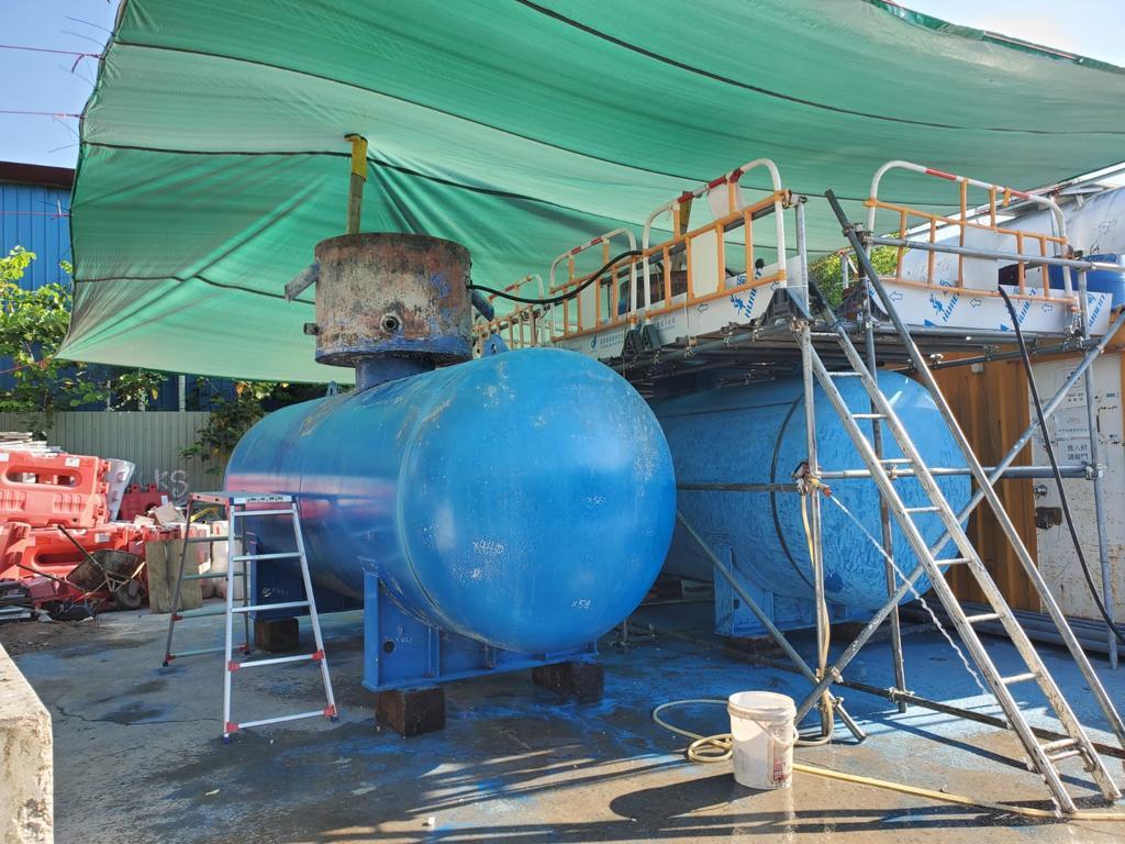 Caltex Po Kwong Village Supply Tank Equipment