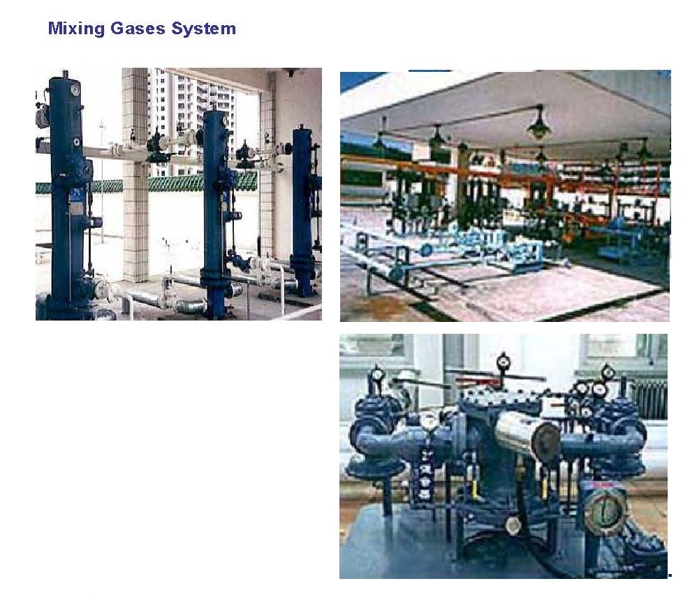 LPG/AIR Mixing Gases System